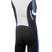 Triathlon drakt bak blue